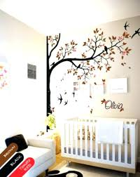 nursery room tree wall decals  on yellow and grey wall art nursery with nursery room tree wall decals wall decor yellow and grey owl art for