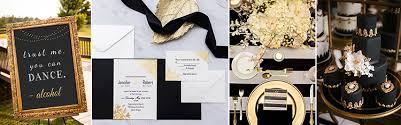 Black And White Invitation Paper Black Wedding Invitations Online At Elegant Wedding Invites