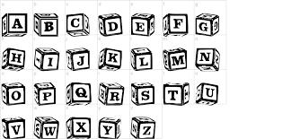 black letter font lms lances letter blocks font urbanfonts com