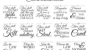 Awesome Free Printable Ten Commandments Coloring Pages And Ten