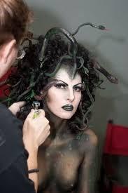 medusa hair make up by katee