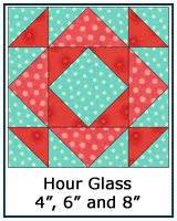 Free Quilt Block Patterns Library & ... Hour Glass quilt block tutorial ... Adamdwight.com