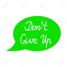 Image result for do not give up clipart