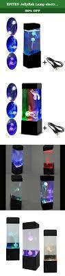 Jellyfish Tank Mood Light Amazon Epiten Jellyfish Lamp Electric Jellyfish Tank Aquarium Color