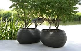 black granite garden planters tall outdoor uk large pots lovely white rectangular architectures marvelous b planter