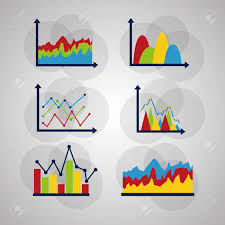 Business Icons Set Different Types Of Statistics Data Charts