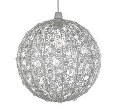 diy lace chandelier lamp