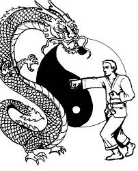 Small Picture Karate Man Versus Dragon Coloring Pages Batch Coloring