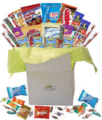 dels about snack gift basket care package with sweet and salty snacks 26 count plus bonus