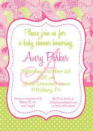 Avery Invitation Template Avery Ba Shower Invitation Templates