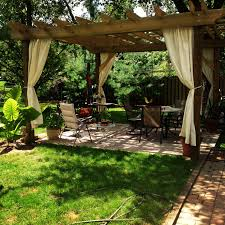 simple covered 40+ Pergola Designs Meant to Transform Your Backyard  Landscaping Into a Green Heaven