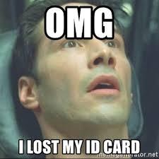 Lost Know My Id - Card Fu Meme I Generator Kung Omg