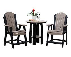 36 inch balcony table 2 balcony chairs