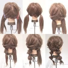 ツインテールくるりんぱ Japanese Hair Syles Kawaii Hairstyles
