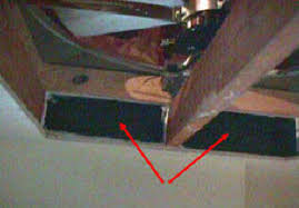 install a whole house exhaust fan yourself seal gaps between joists supplied spacers or make them yourself