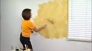 faux painting. 2-Color Faux Painting Instruction By The Woolie (How To Paint Your Walls) #FauxPainting N