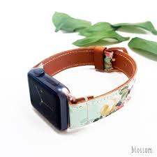fl leather apple watch band 38mm 40mm 42mm 44mm