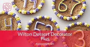 Wilton Dessert Decorator Plus Pull Out Plunger Thatsweetgift