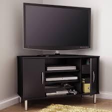black corner tv stands