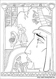 The Prince Of Egypt Coloring Pages On