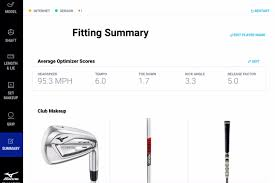 Mizuno Iron Fitting Chart 2019 Shaft Optimizer 3d Now At Fitting Centres Mizuno Golf