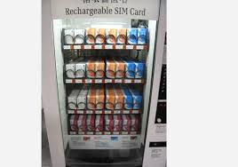 Japan Sim Card Vending Machine Magnificent Peak Show 48 Unusual Vending Machines Of Asia Streets