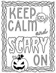 Small Picture Halloween Coloring Pages Word play Language arts and Language