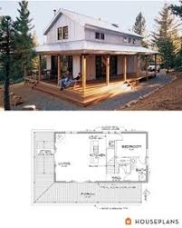 x cabin floor plans   Google Search   Cabin coolness    Modern Farmhouse cabin floor plan and elevation