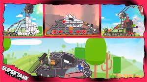 lv27 Game xe tăng - Tổng hợp đấu sĩ Dora P3 level27 | Super tank rumble | phim  hoạt hình về xe tăng