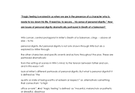 how are issues of personal dignity dramatically portrayed in death document image preview