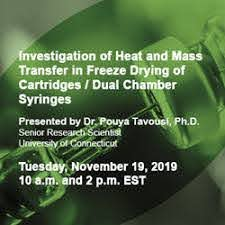 Investigation of Heat and Mass Transfer in Freeze Drying of Cartridges /  Dual Chamber Syringes - SP Scientific