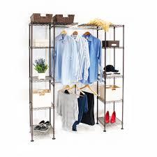 closet organizer systems. Expandable Closet Organizer System, Satin Bronze Systems W