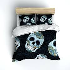 sugar skull bedding blue and gold sugar skull bedding sugar skull bedding asda