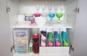 keeping the kitchen cabinets tidy can be an endless battle especially if the kids are helping