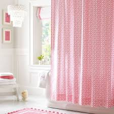 wonderful shower curtains pink ideas with hot pink shower curtain inspirationz light pink shower