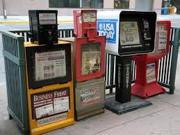 Newspaper Vending Machine Locations Delectable Scott Reeder Farewell To The Newspaper Vending Machine Columnists