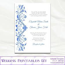 Birthday Invitation Design Templates Adorable Royal Blue Birthday Invite Template Royal Wedding Invitation