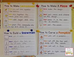 A Place Called Kindergarten How To Writing Anchor Charts