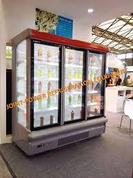 china supermarket multideck display cases refrigerator with sliding glass door china cooler showcase cooler