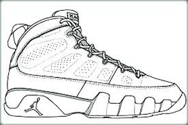 Jordan Shoes Coloring Sheets Coloring Pages Shoes Coloring Pages