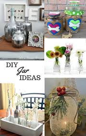 Decorating Ideas For Glass Jars Glass Jar Crafts Decorating Ideas Link Party 100 Mom Skills 26