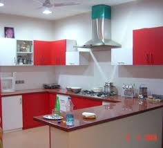 White Kitchen With Red Accents Grey Kitchen Cabinets With Red Accents Quicuacom