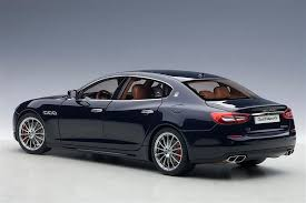 ... AUTOart: 2015 Maserati Quattroporte GTS - Black (75807) In 1:18 Scale  A