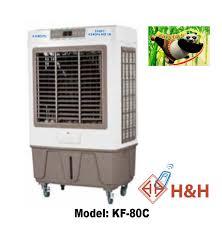 Quạt công nghiệp tại Đà Nẵng - 📢 Quạt hơi nước KUNGFU KF-80C 📢 👉 Công  suất: 160W 👉 Luồng khí ra: 8000 m3/h 👉 Điện áp: 220V/50Hz 👉 Bình chứa  nước: