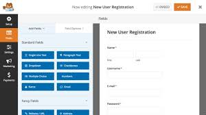 How To Make A Signup Sheet On Word Enchanting How To Create A User Registration Form In WordPress Step By Step