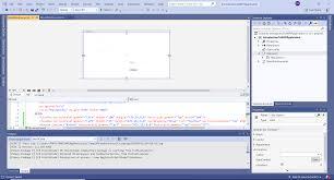 Visual Studio Design Tools What Is Wpf Geeksforgeeks