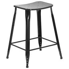 outdoor counter height stools. 24-inch Metal Indoor-Outdoor Counter Height Stool Outdoor Stools C