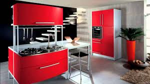 baffling design red kitchen ideas with red white colors kitchen