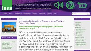 The International Bibliography Of Discographies Presented By Peter Laurence