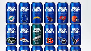 Bud Light Sports Sponsorships 2018 Nfl Bud Light Cans 28 Teams Have Special Beer Cans For